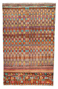Moroccan Berber - Afghanistan Matta 110X177 Äkta Modern Handknuten Mörkröd/Röd (Ull, Afghanistan)