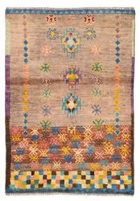 Moroccan Berber - Afghanistan Matta 88X127 Äkta Modern Handknuten Ljusbrun/Ljusrosa (Ull, Afghanistan)