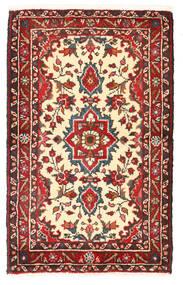 Lillian Matta 48X78 Äkta Orientalisk Handknuten Mörkröd/Mörkgrå (Ull, Persien/Iran)
