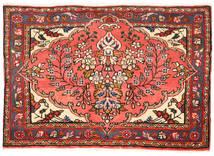 Lillian Matta 62X90 Äkta Orientalisk Handknuten Mörkbrun/Röd (Ull, Persien/Iran)