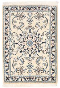 Nain Matta 61X86 Äkta Orientalisk Handknuten Beige/Ljusgrå (Ull, Persien/Iran)