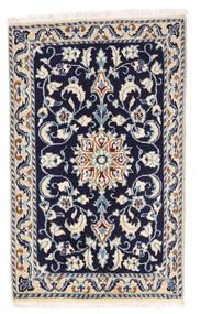 Nain Matta 57X92 Äkta Orientalisk Handknuten Ljusgrå/Mörklila (Ull, Persien/Iran)
