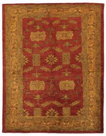 Oriental Overdyed Matta 144X183 Äkta Modern Handknuten Mörkbrun/Mörkröd/Beige (Ull, Persien/Iran)