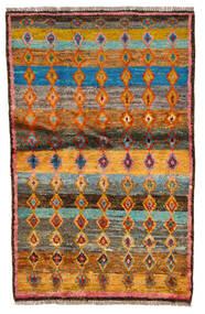 Moroccan Berber - Afghanistan Matta 89X140 Äkta Modern Handknuten Brun/Ljusbrun (Ull, Afghanistan)