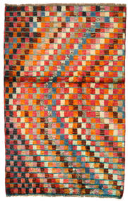 Moroccan Berber - Afghanistan Matta 86X134 Äkta Modern Handknuten Röd/Orange (Ull, Afghanistan)