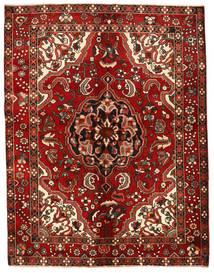 Bakhtiar Matta 154X202 Äkta Orientalisk Handknuten Mörkröd/Roströd (Ull, Persien/Iran)