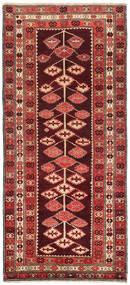 Kelim Karabach Matta 132X303 Äkta Orientalisk Handvävd Hallmatta Mörkröd/Roströd (Ull, Azarbaijan/Ryssland)