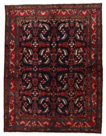 Nahavand Matta 160X210 Äkta Orientalisk Handknuten Mörkröd (Ull, Persien/Iran)