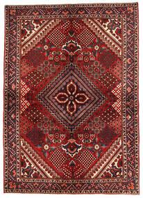 Bakhtiar Matta 149X210 Äkta Orientalisk Handknuten Mörkröd/Mörkbrun (Ull, Persien/Iran)