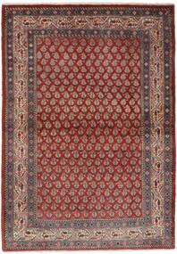 Sarough Mir Matta 106X158 Äkta Orientalisk Handknuten Mörkbrun/Svart (Ull, Persien/Iran)
