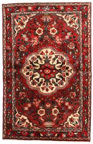 Mehraban Matta 100X168 Äkta Orientalisk Handknuten Mörkröd/Mörkbrun (Ull, Persien/Iran)