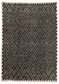 Moroccan Berber - Afghanistan Matta 202X286 Äkta Modern Handknuten Mörkgrå/Ljusgrå (Ull, Afghanistan)