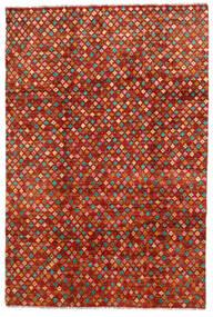 Moroccan Berber - Afghanistan Matta 192X286 Äkta Modern Handknuten Roströd/Röd (Ull, Afghanistan)