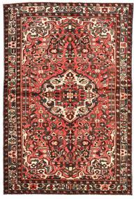 Bakhtiar Matta 143X217 Äkta Orientalisk Handknuten Mörkröd/Beige (Ull, Persien/Iran)