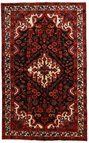Bakhtiar Matta 140X230 Äkta Orientalisk Handknuten Mörkbrun/Mörkröd (Ull, Persien/Iran)
