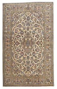 Keshan Matta 128X210 Äkta Orientalisk Handknuten Beige/Mörkgrå (Ull, Persien/Iran)