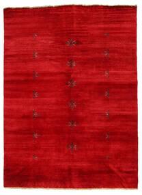 Huttan Matta 141X195 Äkta Orientalisk Handknuten Röd (Ull, Pakistan)