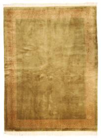 Kina Antikfinish Matta 168X229 Äkta Orientalisk Handknuten Brun/Olivgrön (Ull, Kina)