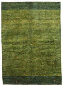 Gabbeh Persisk Matta 165X230 Äkta Modern Handknuten Mörkgrön/Olivgrön (Ull, Persien/Iran)