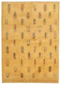 Gabbeh Persisk Matta 145X203 Äkta Modern Handknuten Ljusbrun (Ull, Persien/Iran)