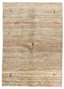 Gabbeh Persisk Matta 143X198 Äkta Modern Handknuten Beige/Ljusbrun/Mörkbeige (Ull, Persien/Iran)