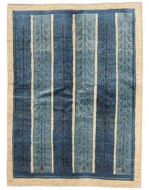 Gabbeh Persisk Matta 154X210 Äkta Modern Handknuten Mörkblå/Blå (Ull, Persien/Iran)