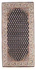 Mir Indisk Matta 61X123 Äkta Orientalisk Handknuten Mörkgrå/Brun (Ull, Indien)
