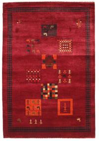 Gabbeh Loribaft Matta 153X225 Äkta Modern Handknuten Röd/Mörkröd (Ull, Indien)