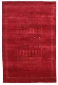 Gabbeh Loribaft Matta 150X226 Äkta Modern Handknuten Röd (Ull, Indien)