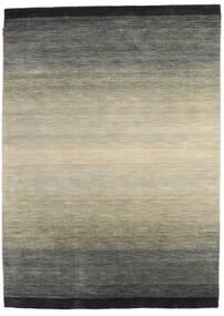 Loribaf Loom Matta 167X231 Äkta Modern Handknuten Mörkgrå/Ljusgrå (Ull, Indien)