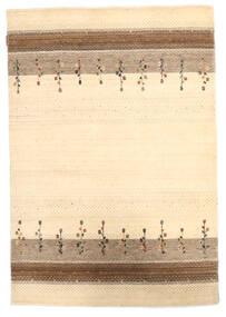 Loribaf Loom Matta 124X180 Äkta Modern Handknuten Beige/Mörkbeige (Ull, Indien)