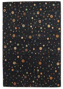 Loribaf Loom Matta 169X238 Äkta Modern Handknuten Svart (Ull, Indien)