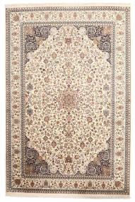 Kashmir Äkta Silke Matta 170X255 Äkta Orientalisk Handknuten Ljusgrå/Beige (Silke, Indien)