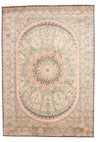 Kashmir Äkta Silke Matta 171X245 Äkta Orientalisk Handknuten Ljusrosa/Beige (Silke, Indien)