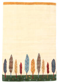 Loribaf Loom Matta 120X177 Äkta Modern Handknuten Beige (Ull, Indien)