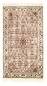 Tabriz Royal Matta 94X164 Äkta Orientalisk Handknuten Beige/Ljusbrun ( Indien)