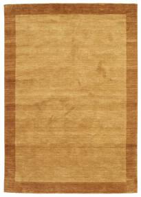 Handloom Frame - Guld Matta 160X230 Modern Ljusbrun/Brun (Ull, Indien)