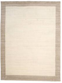 Handloom Frame - Natural/Sand Matta 300X400 Modern Beige/Ljusgrå Stor (Ull, Indien)