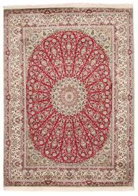 Kashmir Äkta Silke Matta 161X222 Äkta Orientalisk Handknuten (Silke, Indien)