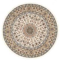 Nain Indisk Matta Ø 243 Äkta Orientalisk Handknuten Rund ( Indien)