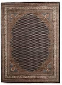 Mir Indisk Matta 253X344 Äkta Orientalisk Handknuten Mörkbrun/Ljusbrun Stor (Ull, Indien)