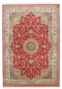 Kashmir Äkta Silke Matta 152X219 Äkta Orientalisk Handknuten (Silke, Indien)