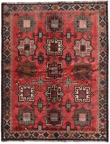 Ghashghai Signerad: Kadamali Year 1374 (1995) Matta 167X213 Äkta Orientalisk Handknuten Svart/Mörkbrun (Ull, Persien/Iran)