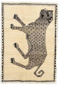 Ghashghai Matta 119X169 Äkta Orientalisk Handknuten Gul/Beige (Ull, Persien/Iran)