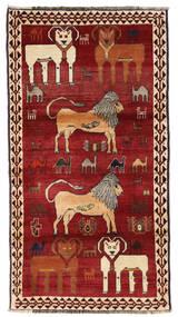 Ghashghai Matta 117X201 Äkta Orientalisk Handknuten Mörkröd/Röd (Ull, Persien/Iran)