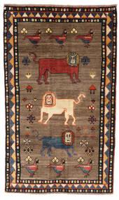 Ghashghai Matta 132X227 Äkta Orientalisk Handknuten Brun/Svart (Ull, Persien/Iran)