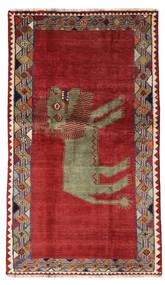 Ghashghai Matta 112X192 Äkta Orientalisk Handknuten Mörkröd/Roströd (Ull, Persien/Iran)