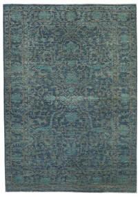 Ziegler Ariana Matta 174X243 Äkta Orientalisk Handknuten Blå/Mörkblå (Ull, Afghanistan)