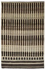 Moroccan Berber - Afghanistan Matta 116X181 Äkta Modern Handknuten Mörkbrun/Ljusbrun (Ull, Afghanistan)