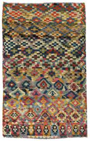 Moroccan Berber - Afghanistan Matta 117X182 Äkta Modern Handknuten Mörkgrå/Ljusgrå (Ull, Afghanistan)